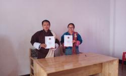APA signing between Executive Secretary and Human Resource Officer