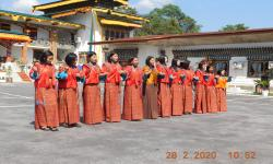 cultural dances for the inauguration ceremony